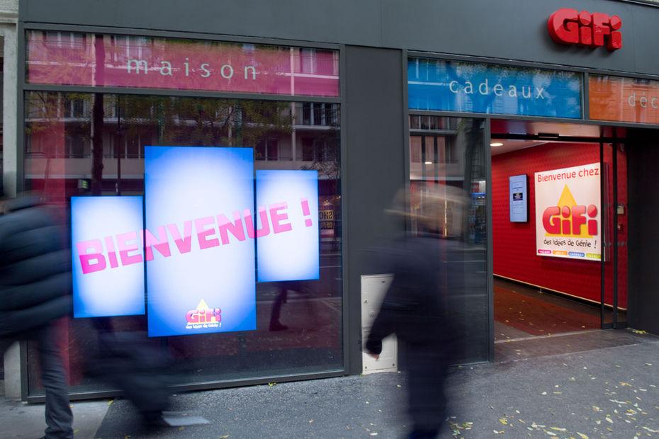 855b7e1ebe964e Ce magasin GiFi, situé rue d Alesia à Paris, ouvert en 2016,