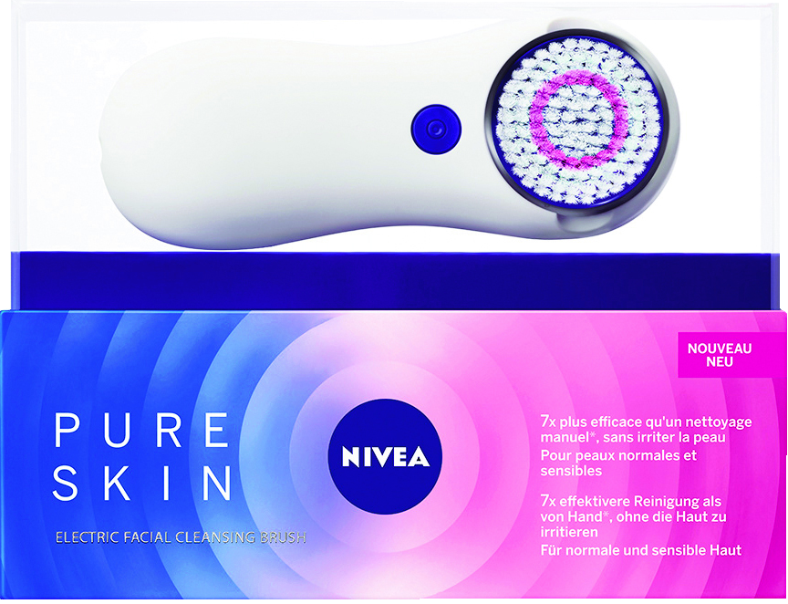 brosse nettoyante pour le visage de nivea de niv a. Black Bedroom Furniture Sets. Home Design Ideas