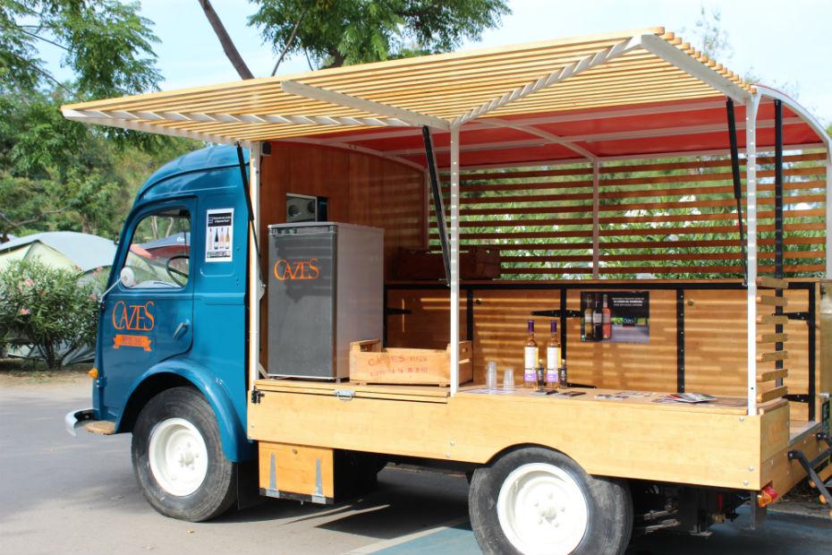 Apr s les food trucks voici le wine truck for Food truck bar le duc