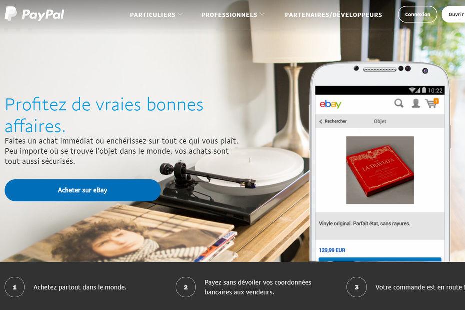 PayPal ne sera plus le principal partenaire de paiement de eBay