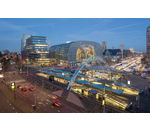 centre commercial Markthal Rotterdam RED
