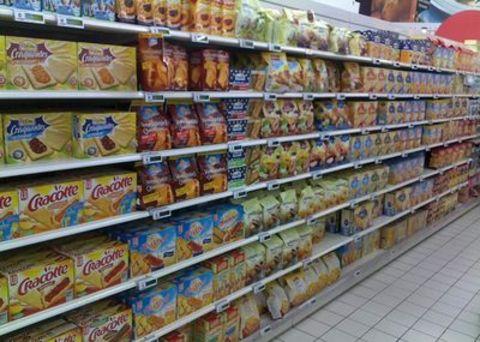 """Résultat de recherche d'images pour """"rayon biscuits  de magasin"""""""