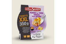 L'assiette XXL pommes de terre knacks sauce moutarde de William Saurin