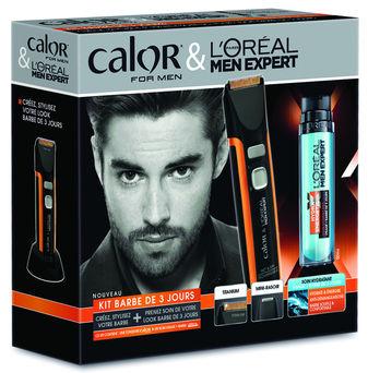kit dentretienloral men expert et calor for men ont lanc en avril - Coloration Barbe Grande Surface