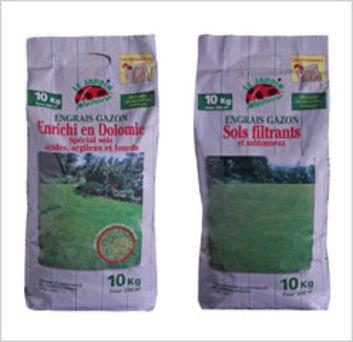 Deux engrais naturels pour gazon bricolage jardinage - Engrais gazon printemps ...