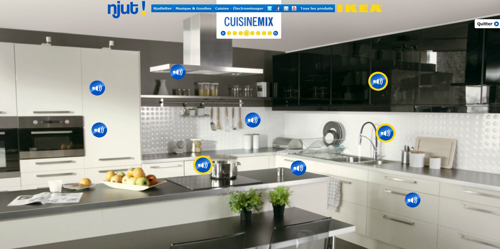ikea fait d couvrir ses cuisines en musique. Black Bedroom Furniture Sets. Home Design Ideas