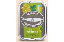 Sardines cuisinées à déguster chaud à la Nantaise de La Belle-Iloise