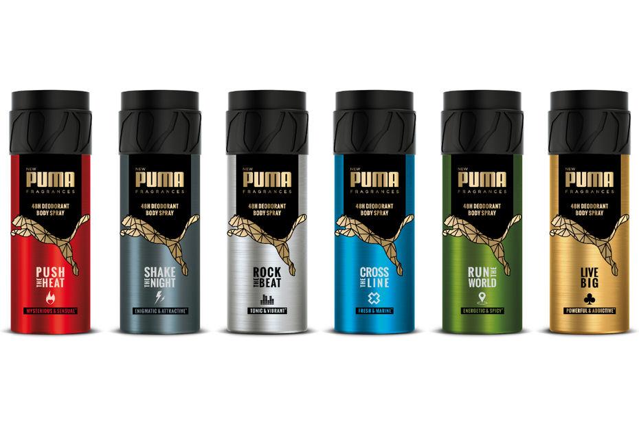 best wholesaler detailed images on sale Puma revient au rayon déodorant