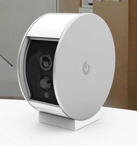 myfox security camera une cam ra de surveillance connect e. Black Bedroom Furniture Sets. Home Design Ideas