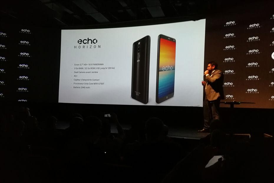 Deux smarphones borderless à 130 et 170 €, qui dit mieux — Echo Horizon