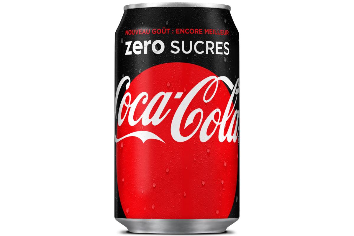 coca cola zero devient coca cola zero sucres. Black Bedroom Furniture Sets. Home Design Ideas