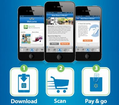 Scan and Go Walmart