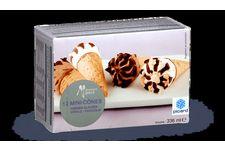 12 Mini-Cônes Vanille-Chocolat Picard