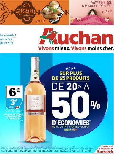 D couvrez le catalogue auchan sp cial 20 for Les economes catalogue