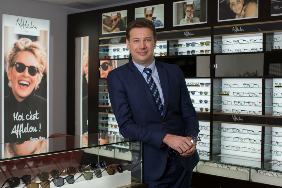 1c2c98c2fd Frédéric Poux, Président-Directeur Général du groupe Afflelou