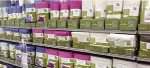 Du coton bio pour toute la maison textile habillement - Linge de maison carrefour ...
