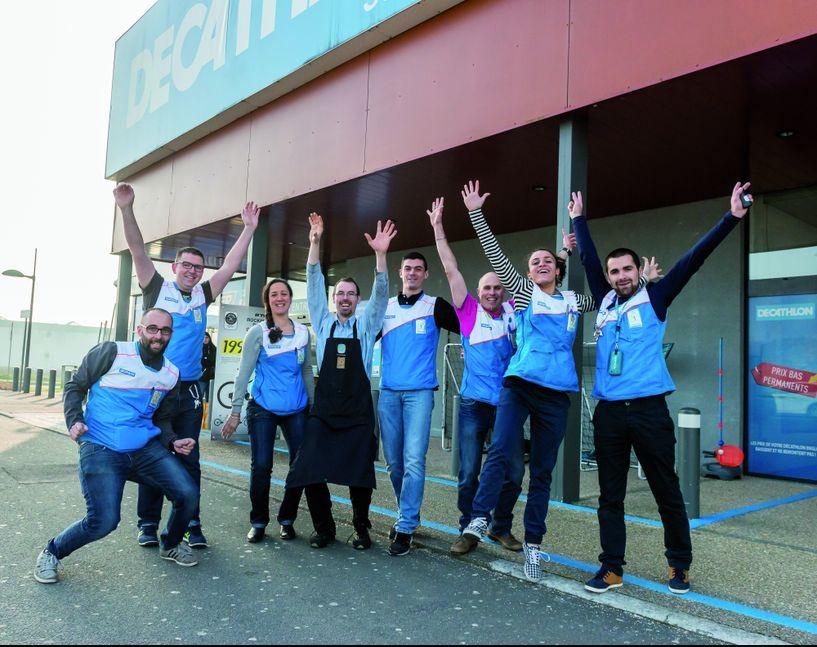 Decathlon est, cette année encore, au quatrième rang des entreprises où la qualité de travail est bonne.
