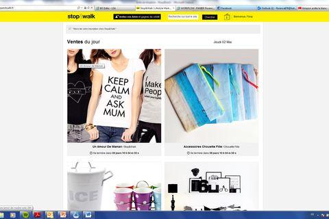 E-COMMERCE D origine espagnole, le site de ventes privées stop walk,  débarque en France. Fondé par Daniel Pérez Colomar, le site, lancé il y a 8  mois en ... 8d131307043