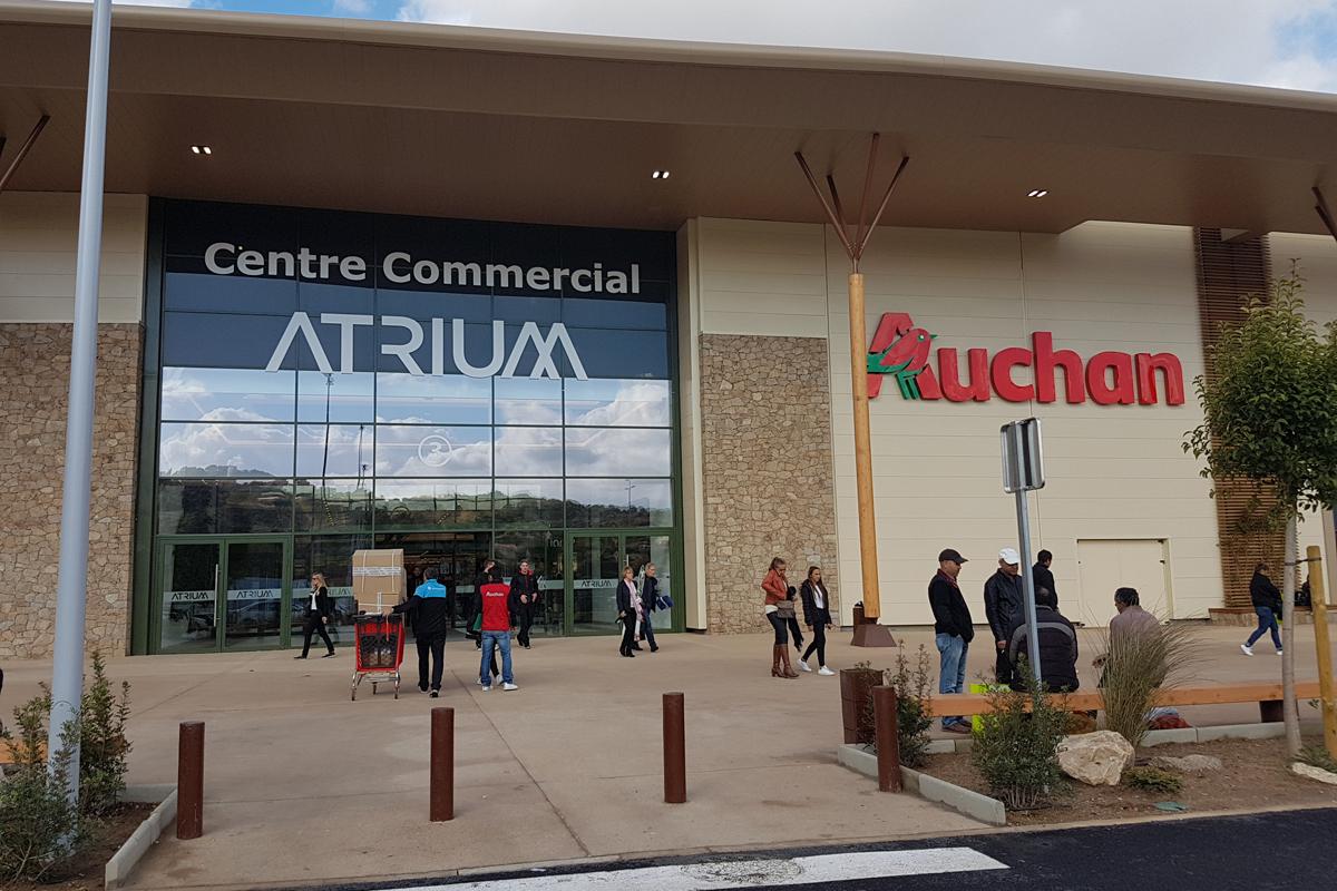 Auchan ouvre pour la premi re fois un magasin for Email auchan