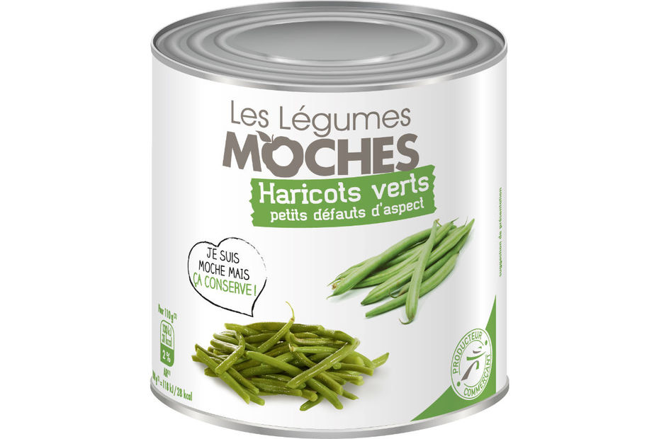 Intermarch lance les l gumes moches en conserve for Customiser des boites de conserves