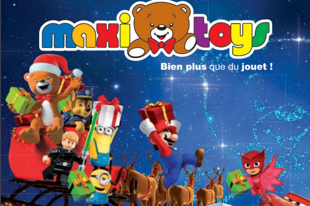 maxi toys d voile son catalogue de jouets enqu tes sur la consommation en france. Black Bedroom Furniture Sets. Home Design Ideas