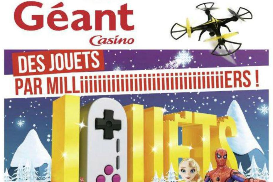 catalogue jouet noel 2018 geant casino Géant Casino lève le voile sur son catalogue   Dossiers LSA Conso catalogue jouet noel 2018 geant casino