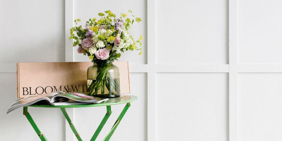 Le fleuriste en ligne britannique bloom wild for Fleuriste ligne