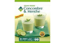 Soupe froide Concombre & Menthe de Leader Price