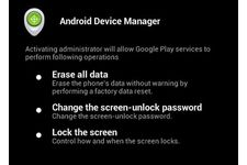 Application mobile - Android Device Manager