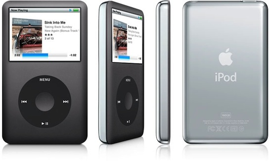 ipod classic 6 me g n ration de apple. Black Bedroom Furniture Sets. Home Design Ideas