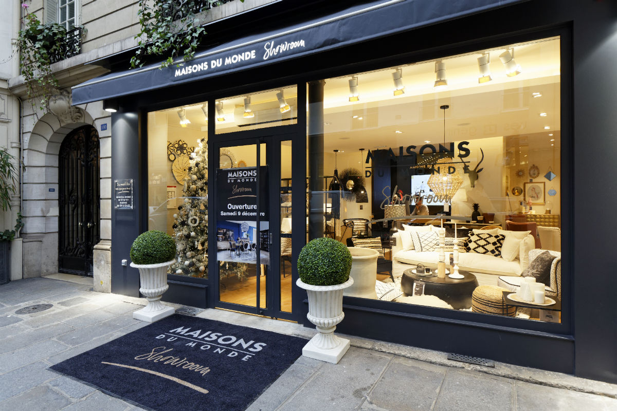 Maisons du monde ouvre un showroom en plein paris for Sconti maison du monde