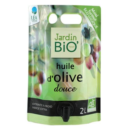 Huile d olive douce de jardin bio 39 for Jardin bio