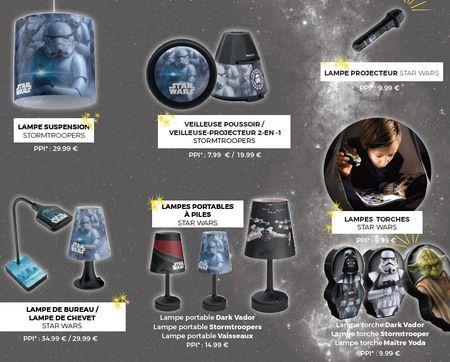 luminaires star wars de philips lighting. Black Bedroom Furniture Sets. Home Design Ideas