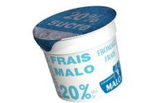 Fromage frais Sucré 20% de Malo