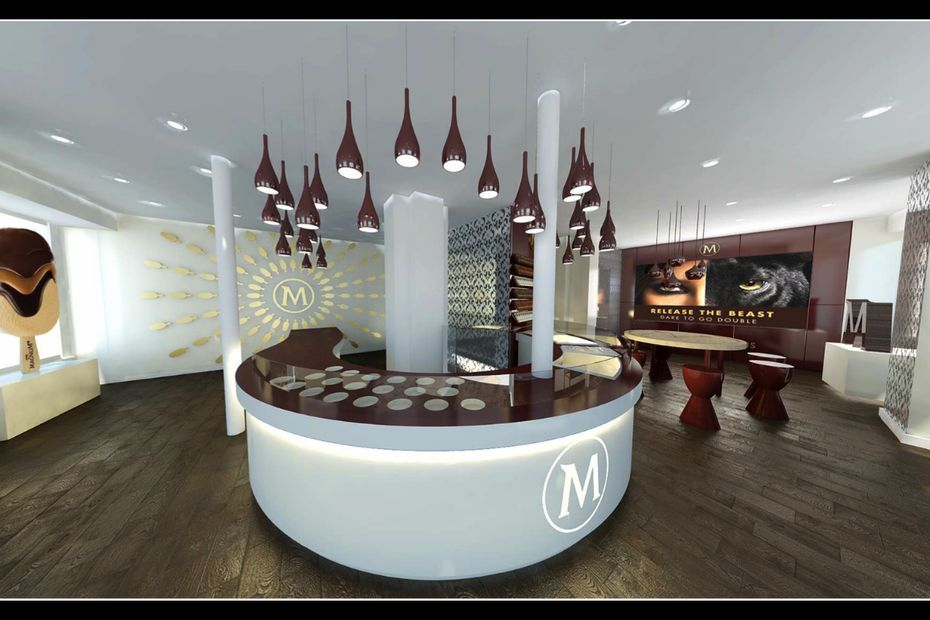magnum inaugure sa boutique ph m re en frais ls et produits surgel s. Black Bedroom Furniture Sets. Home Design Ideas