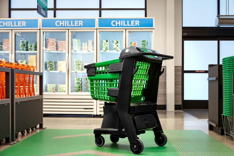 Amazon : Un chariot d'épicerie intelligent vient de sortir