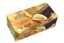 Glace Spéculoos Saveur Vanille et Biscuit de Carte d'Or de Carte D'Or