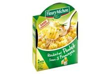 Radiatori Poulet Sauce 3 fromages Fleury Michon