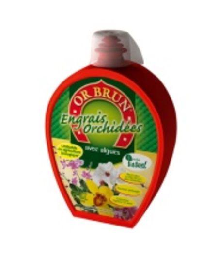 Engrais liquides orchid es d 39 or brun - Engrais pour orchidee ...