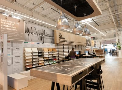 Castorama magasins lenseigne du magasin leroy merlin de massy essonne le castorama magasins - Leroy merlin essonne ...