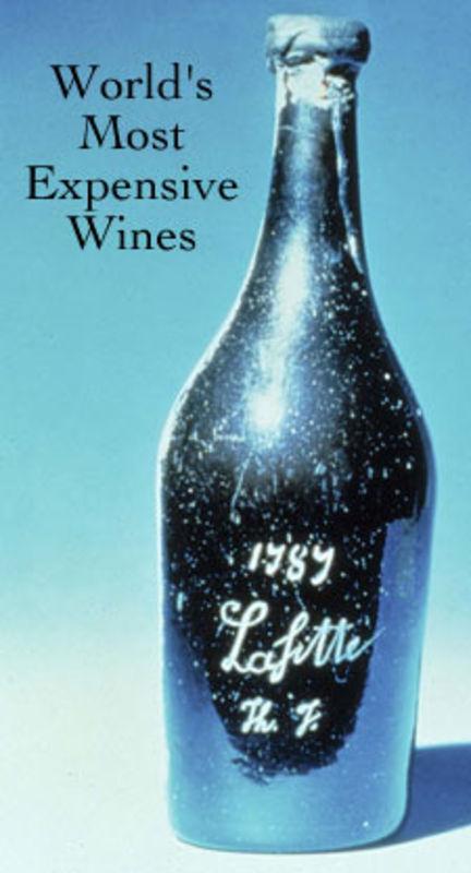 vin rouge le plus cher