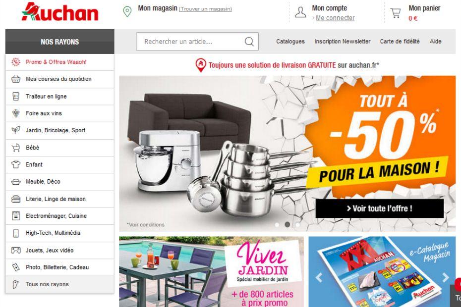 Carte Auchan Mise A Jour.Auchan Mise Sur Lengow Pour Developper Sa