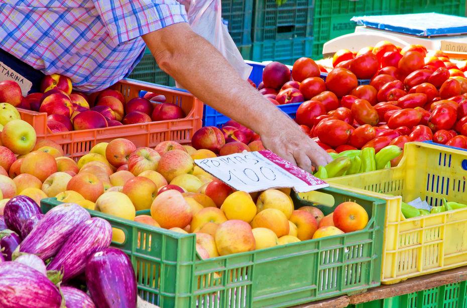Le prix des fruits et légumes à la baisse en 2017