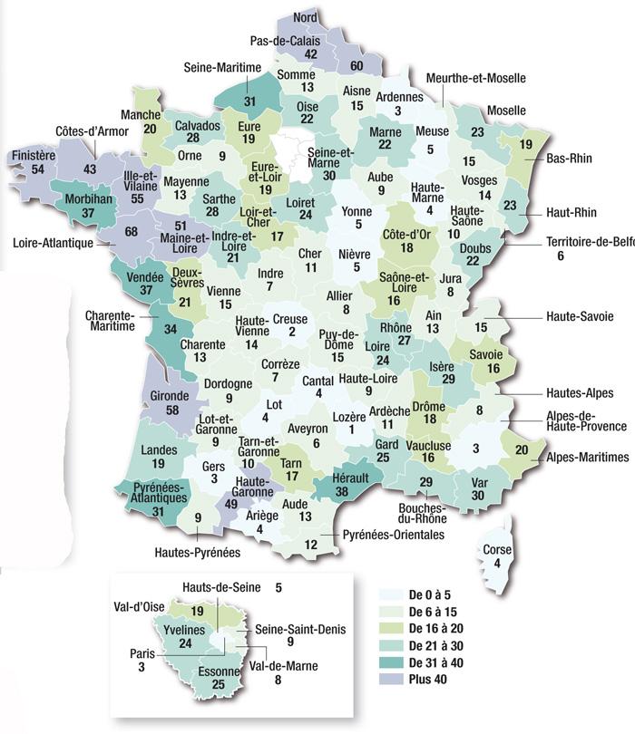 ville de l ouest de la france departement du