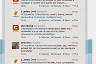 Tweet clash Leclerc-Chronodrive