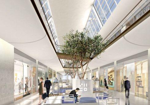 La fonci re hammerson entrevoit un retour de - Les terrasses du port marseille centre commercial ...
