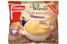 Velouté Patates Douces, Aubergine & Pointe de Crème Fraiche de Findus