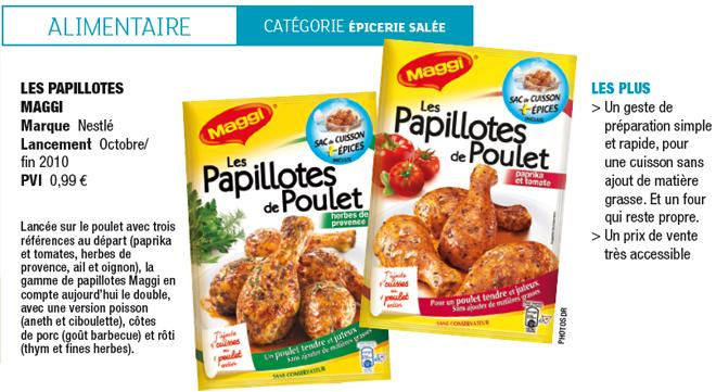 Essai Réussi Pour Les Papillotes Maggi Enquãªtes Sur La