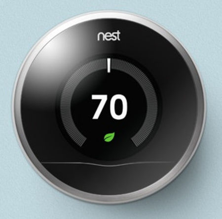 Le thermostat intelligent connect nest - Thermostat connecte nest ...
