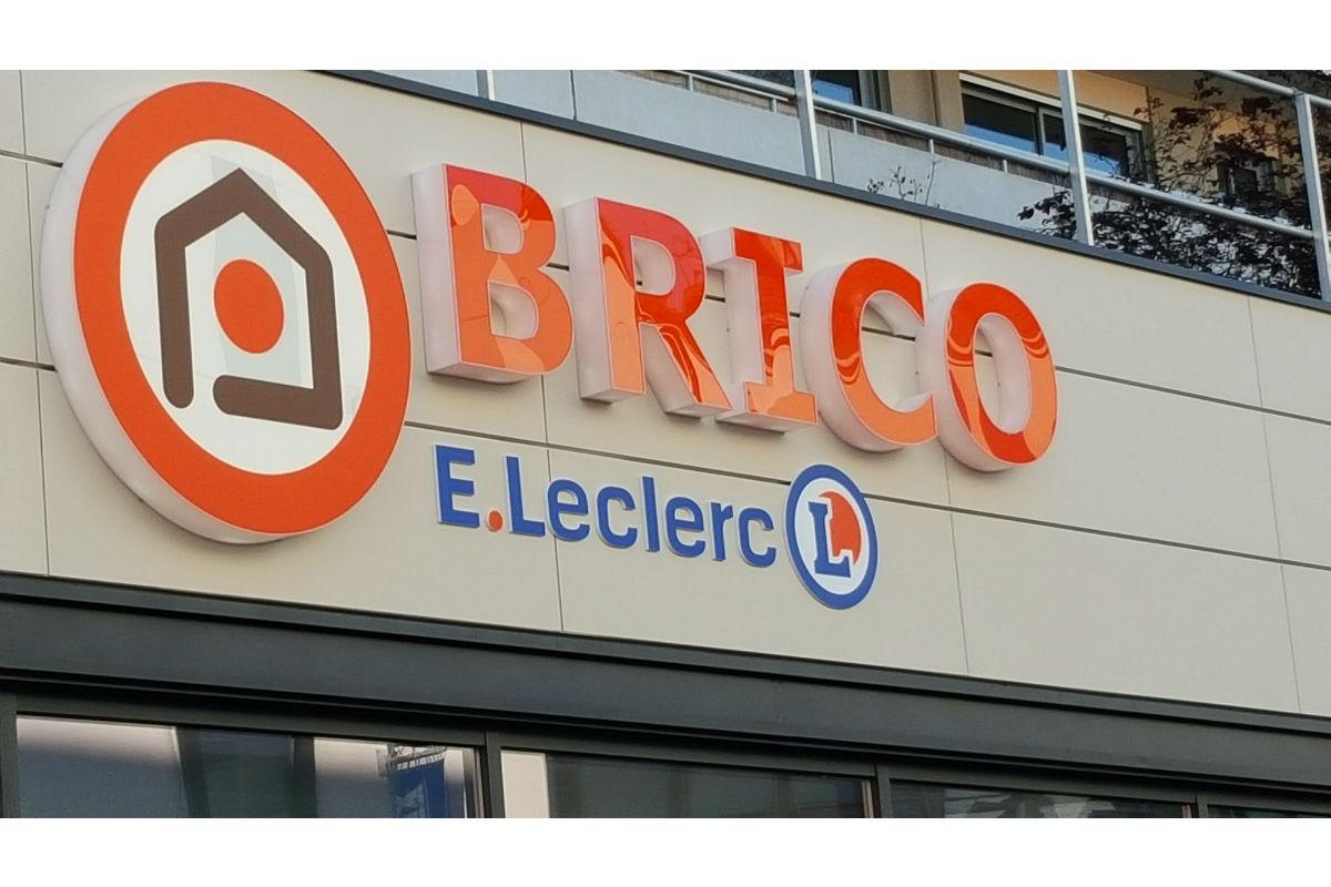 Brico Leclerc Fait Son Entree En